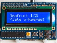 Adafruit Blue&White 16x2 LCD+Keypad Kit for Raspberry Pi