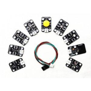画像1: Gravity: 9 Pcs Sensor Set for Arduino