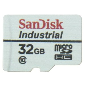 画像1: Raspberry Pi起動動作確認済み Industry用microSDカードClass10 32GB [SanDisk]