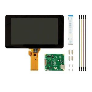 "画像1: 7"" Touchscreen Display for Raspberry Pi"