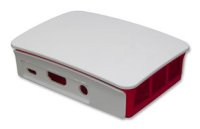 RASPBERRY-PI3-CASE  Official Raspberry Pi 3 Case - Red and White