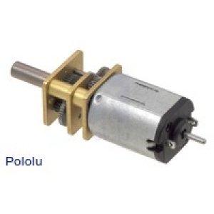 画像1: Pololu Zumo Extended Shaft付マイクロメタルギアモーター(100:1)