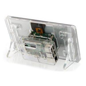 画像3:  Raspberry Pi 公式ディスプレイ用3ple Deckerスタンド