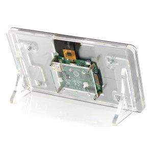 画像4:  Raspberry Pi 公式ディスプレイ用3ple Deckerケース