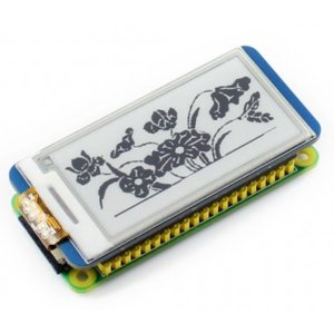 画像2: 2.13inch E-Ink display HAT for Raspberry Pi (250x122)