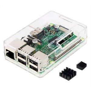 画像1: Raspberry Pi3 Model B ボード&ケースセット  10個セット
