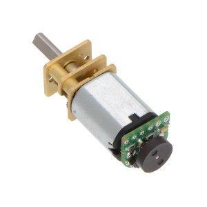 画像2: Magnetic Encoder Pair Kit for Micro Metal Gearmotors, 12 CPR, 2.7-18V (HPCB compatible)
