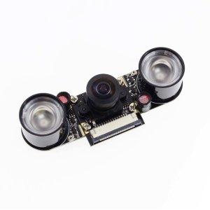 画像1: Raspberry Pi用カメラモジュール(Night Vision,Fish Lens)