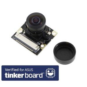 画像1: Tinker Board用カメラモジュール(Fish Lens)