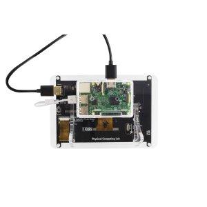 """画像3: Raspberry Pi用 7""""HDMIディスプレイスタンド"""