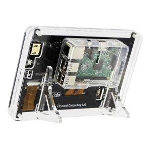 """画像2: Raspberry Pi用 7""""HDMIディスプレイスタンド"""