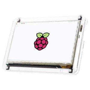 """画像1: Raspberry Pi用 7""""HDMIディスプレイスタンド"""