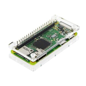 画像1: Raspberry Pi Zero WH ボード&ケースセット =3ple Decker 対応=