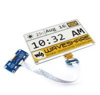 7.5inch E-Ink display HAT for Raspberry Pi, yellow/black/white three-color (640x384)