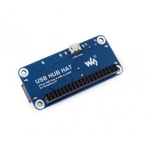 画像3: 4 Port USB HUB HAT for Raspberry Pi