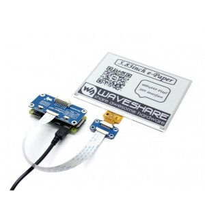 画像4: 5.83inch E-Ink display HAT for Raspberry Pi (600x448)