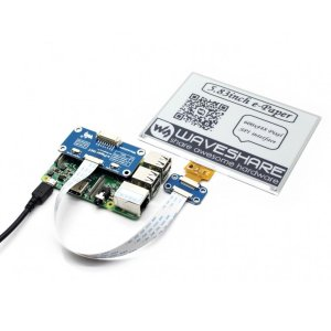 画像3: 5.83inch E-Ink display HAT for Raspberry Pi (600x448)