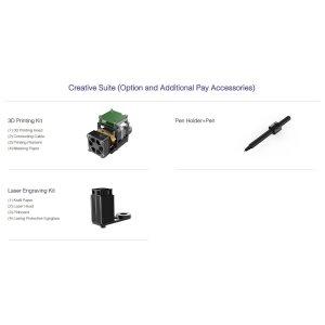 画像1: Creative Suite(3D Print/Pen Holder+Pen/Laser Engraving Kit)
