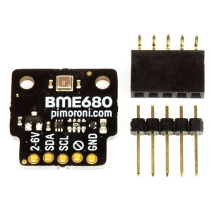 画像3: BME680 Breakout - Air Quality, Temperature, Pressure, Humidity Sensor