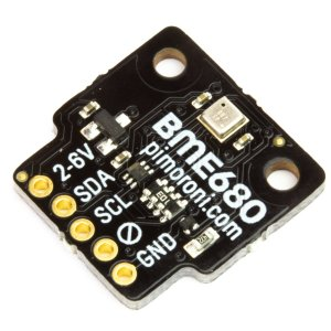 画像1: BME680 Breakout - Air Quality, Temperature, Pressure, Humidity Sensor