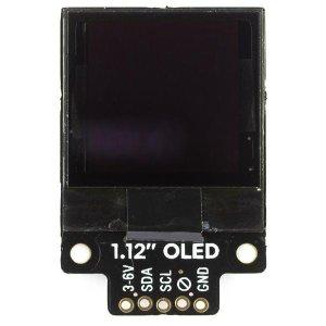 """画像2: 1.12"""" Mono OLED (128x128, white/black) Breakout"""