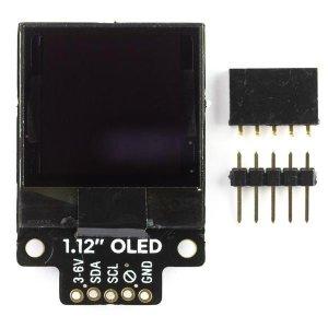 """画像4: 1.12"""" Mono OLED (128x128, white/black) Breakout"""