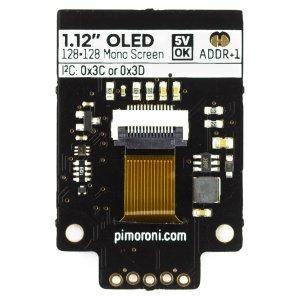 """画像3: 1.12"""" Mono OLED (128x128, white/black) Breakout"""