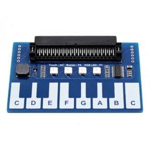 画像1: Mini Piano Module for micro:bit, Touch Keys to Play Music