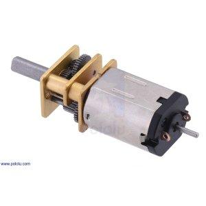 画像1: Pololu Balboa 32U4 Extended Shaft付マイクロメタルギアモーター(75:1)