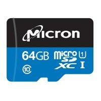 Micron Industry用 microSDカード 64GB  A1対応
