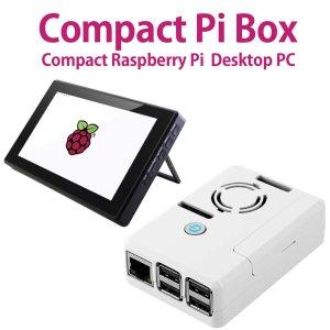 画像1: Compact Pi Box 7インチLCDセット