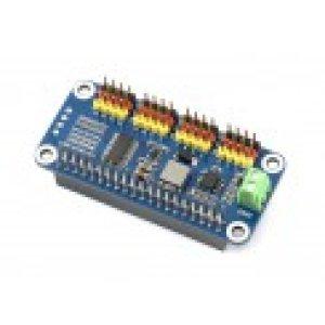 画像1: Servo Driver HAT for Raspberry Pi, 16-Channel, 12-bit, I2C