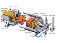 遊星ギヤーボックスセット    Item No:72001     Planetary Gear Box Set