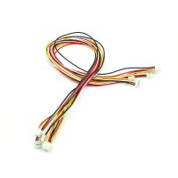 Grove - Universal 4 Pin Buckled 50cm Cable (5pcs Pack)