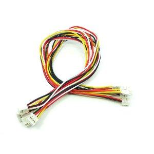 画像1: Grove - Universal 4 Pin Buckled 30cm Cable (5pcs Pack)