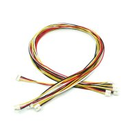 Grove - Universal 4 Pin Buckled 40cm Cable (5pcs Pack)