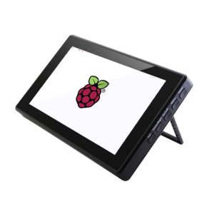 画像2:  [Raspberry Pi4 対応] 7 HDMI LCD (H) (with case), 1024x600, IPS