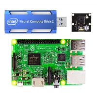 Raspberry Pi3 AIカメラ スターターキット(Neural Compute Stick 2版)