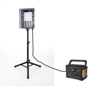画像1: 野外用 仮設無線LAN敷設セット(バッテリー付)