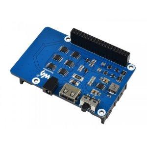 画像2: Uninterruptible Power Supply UPS HAT For Raspberry Pi, Stable 5V Power Output