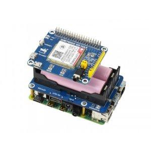 画像4: Uninterruptible Power Supply UPS HAT For Raspberry Pi, Stable 5V Power Output