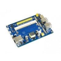 Compute Module IO Board with PoE Feature, for Raspberry Pi CM3/CM3L/CM3+/CM3+L