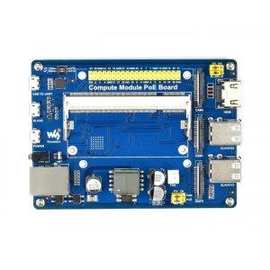 画像4: Compute Module IO Board with PoE Feature, for Raspberry Pi CM3/CM3L/CM3+/CM3+L