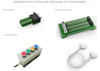 Expansion Suite(DB15 Expansion、DB62 Expansion&Cable、4-channel Switch Kit)