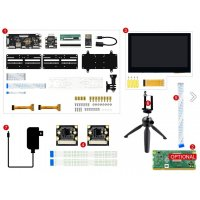 Raspberry Pi Compute Module 3+ Development Kit Type C, CM3+ Binocular Vision Kit (CM3+なし)