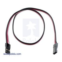 """Servo Extension Cable 12"""" Female - Female"""