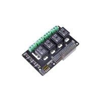 4チャネルSPDTリレーHAT for Raspberry Pi