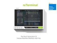 reTerminal - 工業用IOT端末ハードウェア Linuxインストール済みRaspberry Pi CM4搭載 5インチ  マルチタッチスクリーン