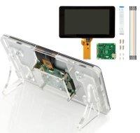"""公式 7"""" Touchscreen Display + 3ple Deker スタンドセット"""