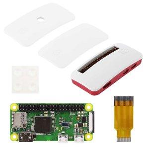 画像1: Raspberry Pi Zero WH ボード&公式ケースセット